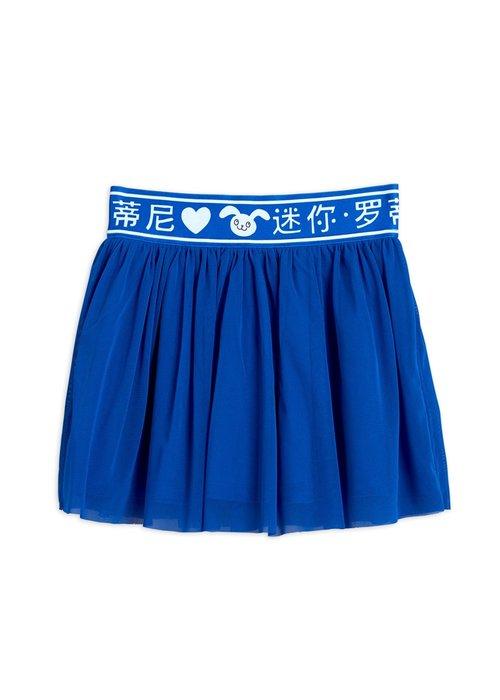 Mini Rodini Mini Rodini Tulle Skirt Blue