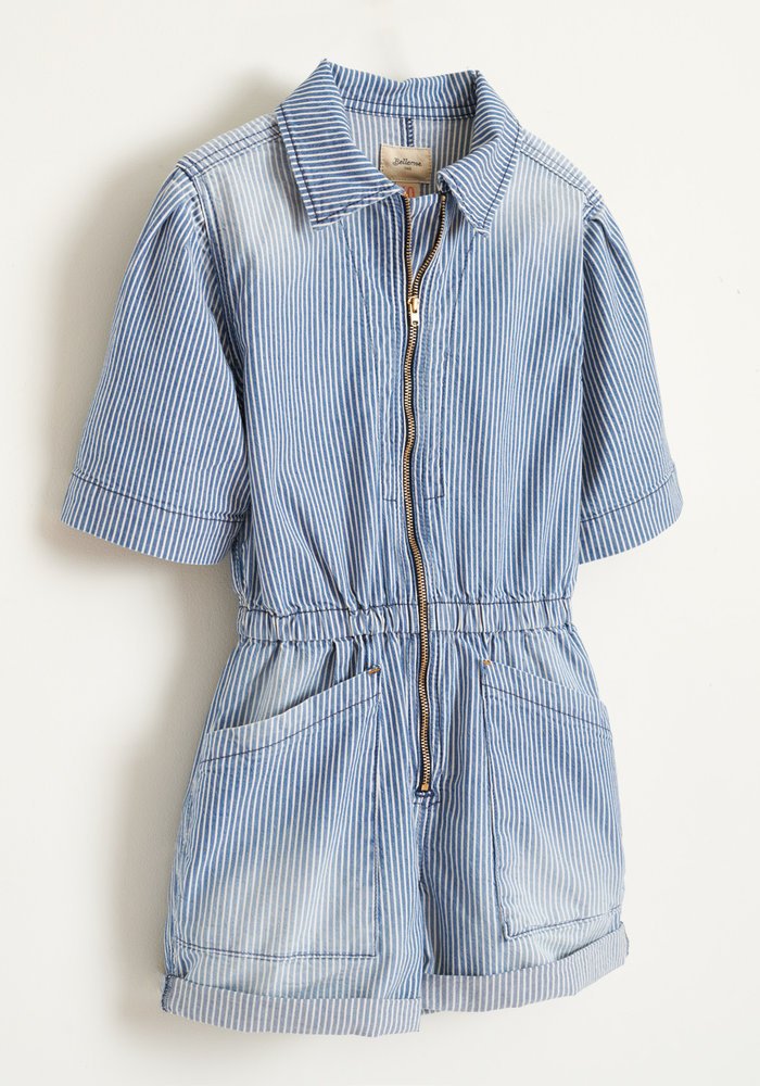 Bellerose Girls Jumpsuit Pilots Medium Bleached