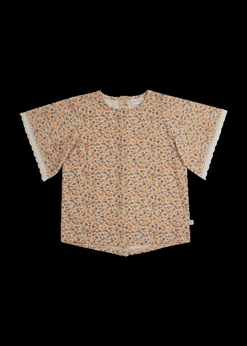Blossom Kids Blossom Kids Tunic short sleeves Aquarel Flower
