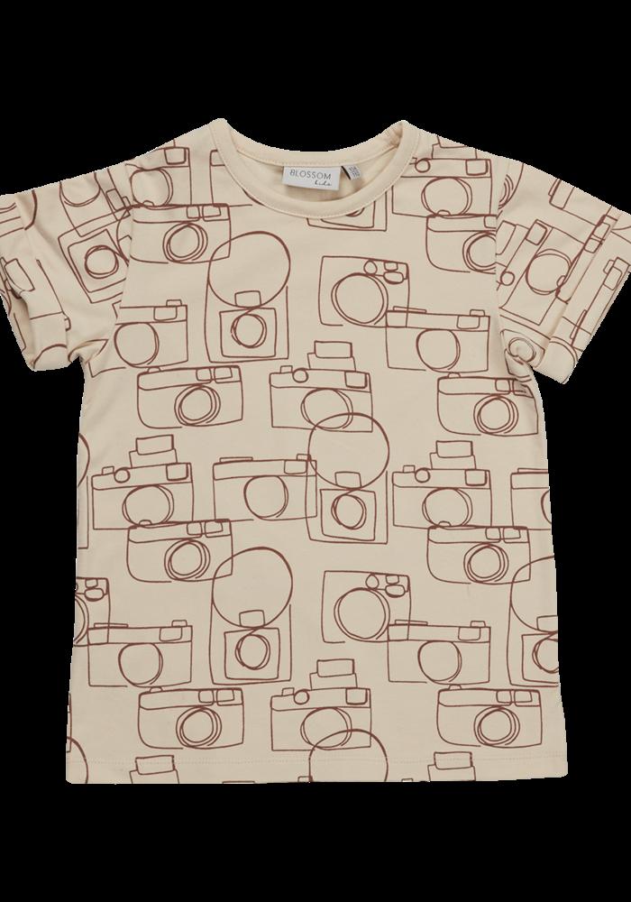 Blossom Kids T-Shirt Camera Chaos Soft Sand