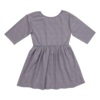 Blossom Kids Blossom Kids Dress half sleeve Shelves Lavender Gray