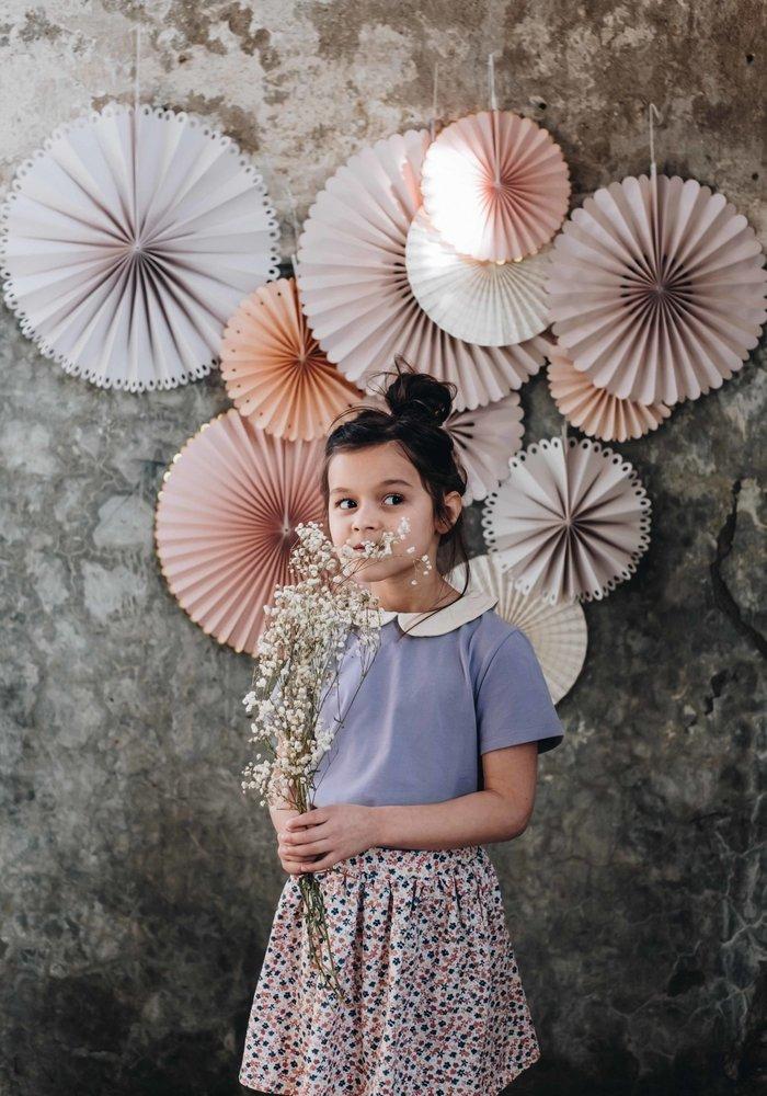 Blossom Kids Skirt Aquarel Flowers