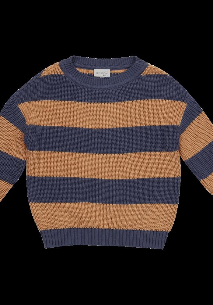 Blossom Kids Knitted Jumper Chuncky Stripes