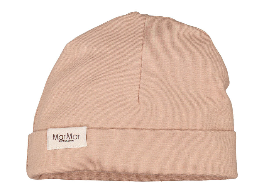 MarMar Aiko Modal Smooth Solid Hat Rose Sand