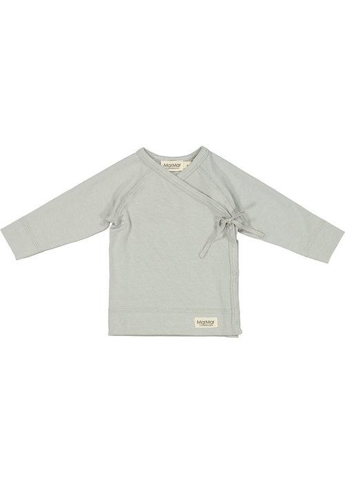 MarMar MarMar Tut Wrap LS Modal Smooth Solid T-Shirt Chalk