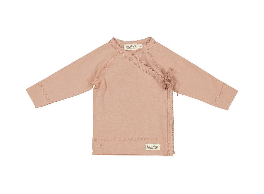 MarMar Tut Wrap LS Modal Smooth Solid T-Shirt Rose Sand