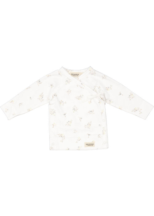 MarMar MarMar Tut Wrap LS Modal Smooth Print T-Shirt Rose Bouquet