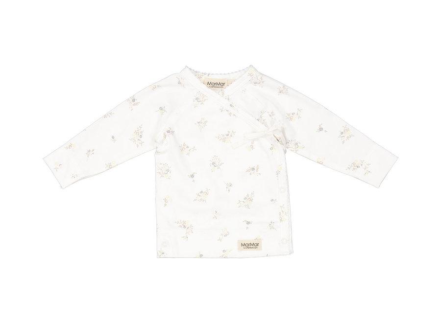MarMar Tut Wrap LS Modal Smooth Print T-Shirt Rose Bouquet