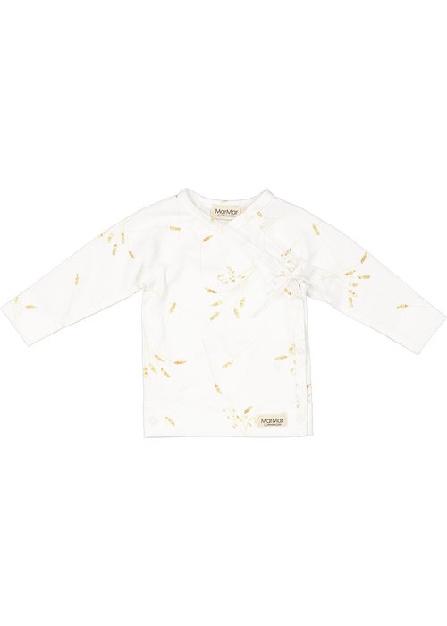 MarMar MarMar Tut Wrap LS Modal Smooth Print T-Shirt Cornfield