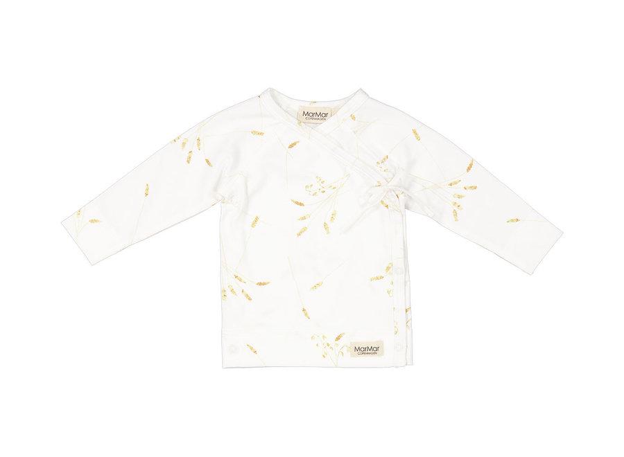 MarMar Tut Wrap LS Modal Smooth Print T-Shirt Cornfield