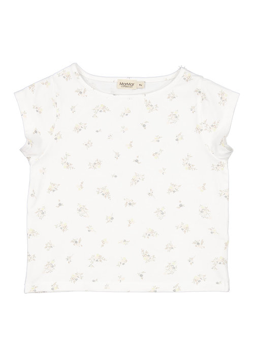 MarMar MarMar Tavola Modal Smooth Print T-Shirt Rose Bouquet