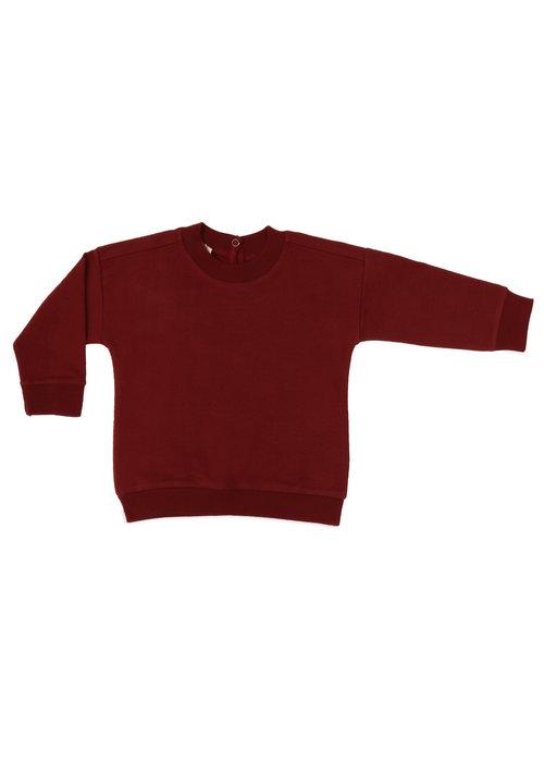 Phil&Phae Phil & Phae Oversized Summer Sweater Deepest Brick