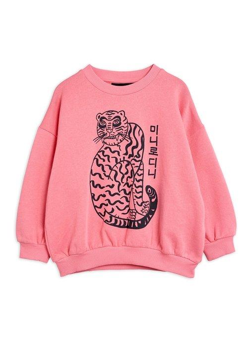 Mini Rodini Mini Rodini Tiger sp Sweatshirt Pink