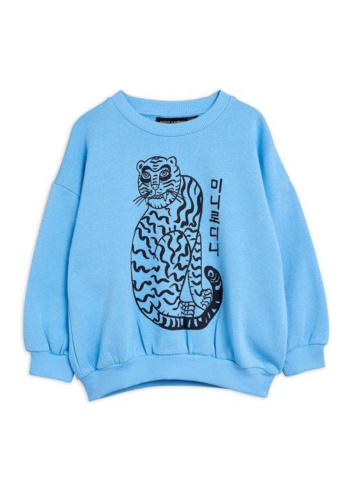 Mini Rodini Mini Rodini Tiger sp Sweatshirt blue
