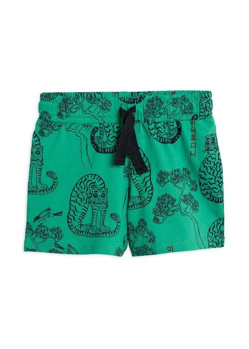 Mini Rodini Mini Rodini Tigers aop Shorts Green