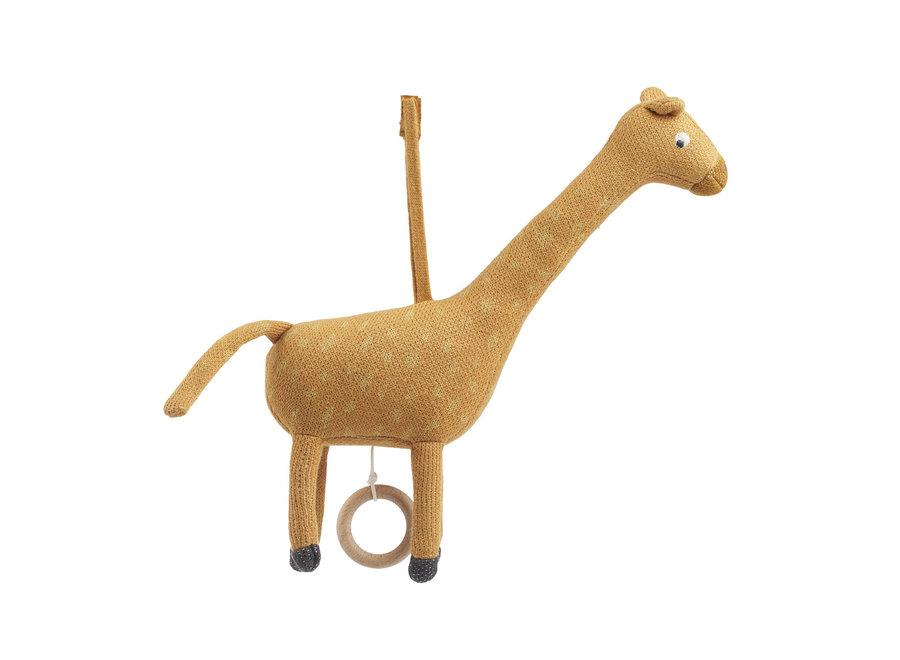 Liewood Angela Music Mobile Giraffe Mustard