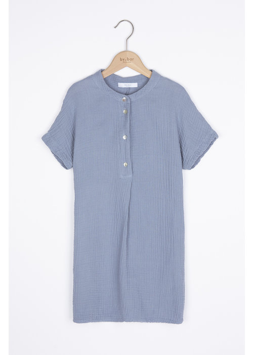 BY-BAR BY-BAR Otty Dress Foggy Blue