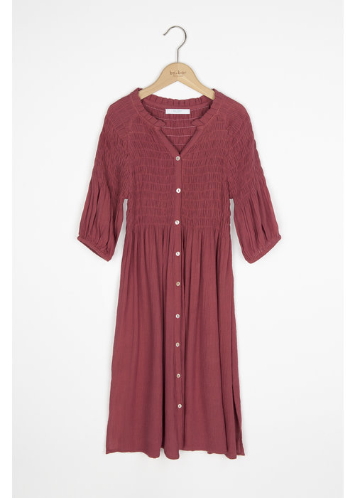 BY-BAR BY-BAR Lou Lou Dress Birght Plum