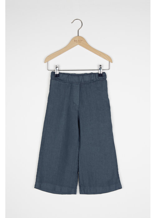 BY-BAR BY-BAR Ines Linen Pant Oil Blue