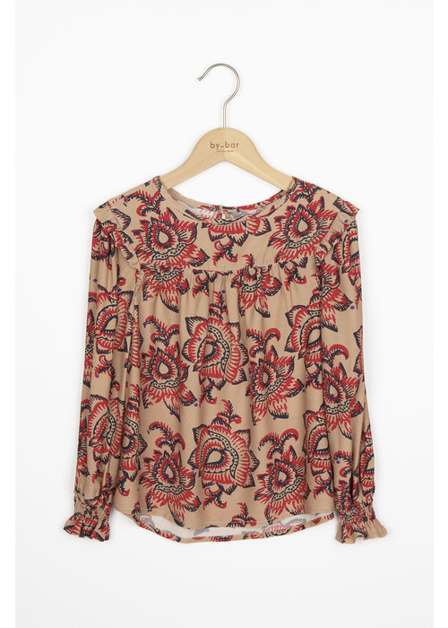 BY-BAR BY-BAR Mila Blouse Lotus nude