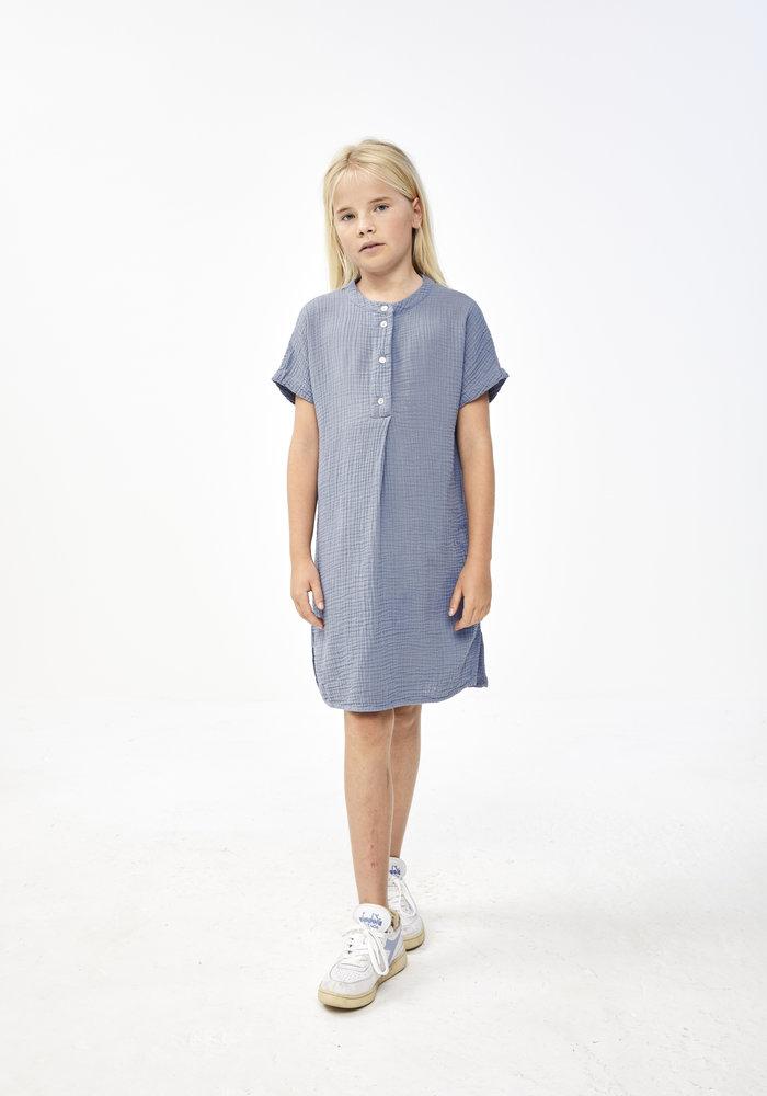 BY-BAR Lena Dress Blue Smoke