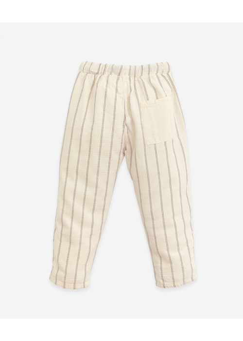 Play Up Play Up Striped Woven Trousers Dandelion