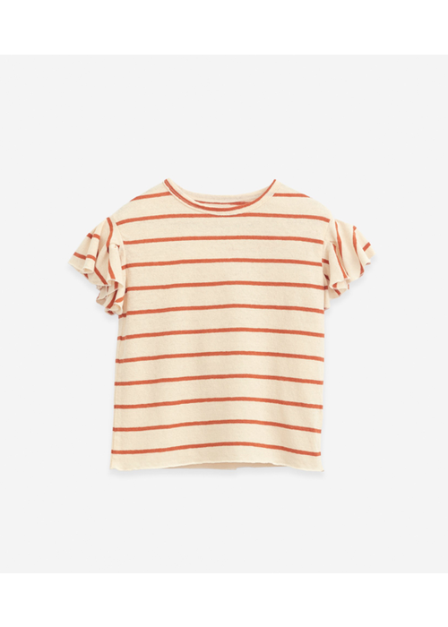 Play Up Play Up Striped Jersey T-shirt Anise