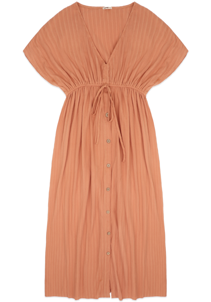 Ammehoela Mom Dress  Coral Dust