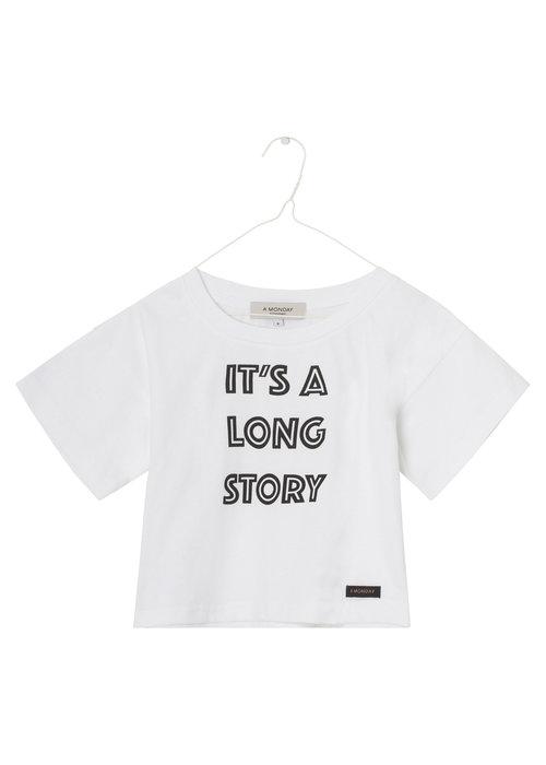 A Monday in Copenhagen A Monday in Copenhagen Nynne T-shirt White