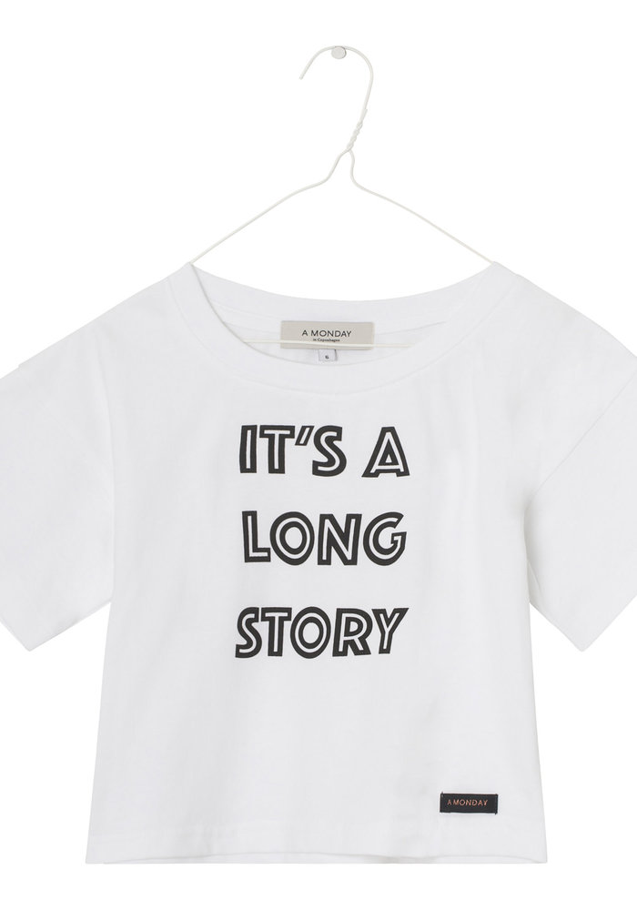 A Monday in Copenhagen Nynne T-shirt White