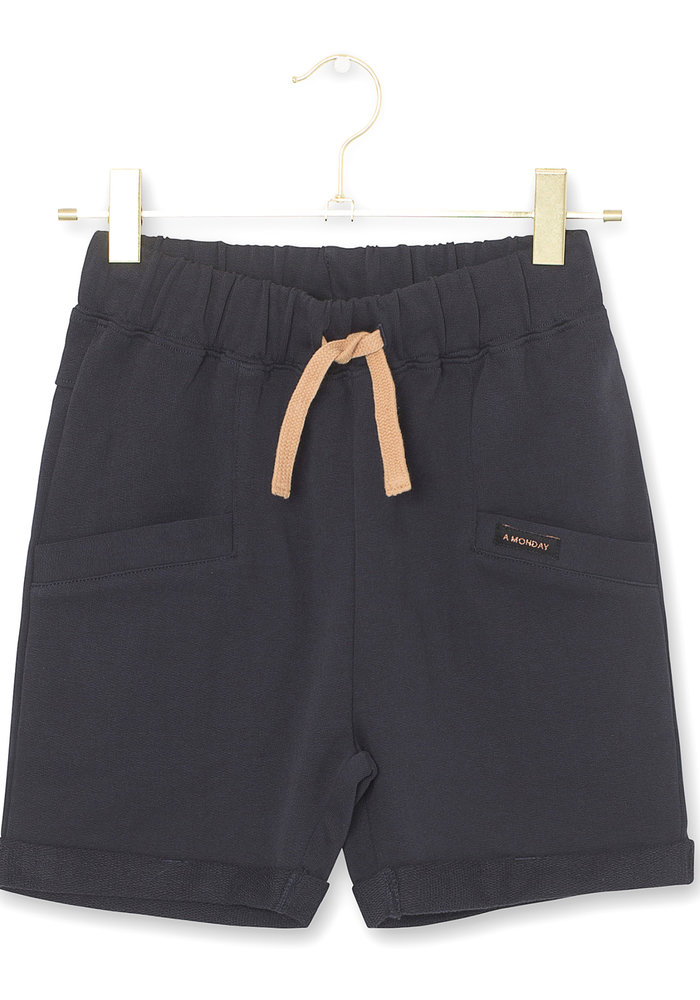 A Monday in Copenhagen Bailey Shorts Dark Navy