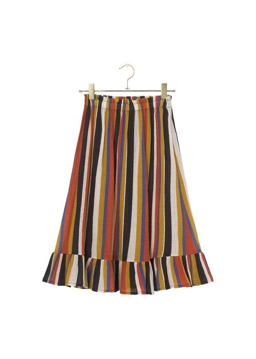 A Monday in Copenhagen A Monday in Copenhagen Fabie Skirt Summer Fig Stripe