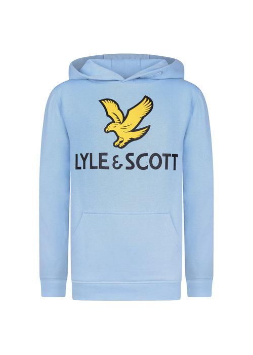 Lyle & Scott Lyle & Scott Lyle Eagle Logo LB OTH Hoodie Sky Blue