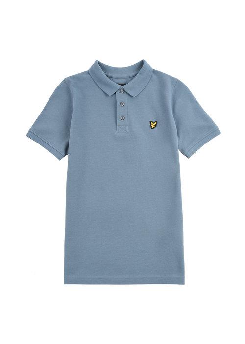 Lyle & Scott Lyle & Scott Classic Polo Shirt Bluestone
