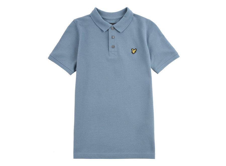 Lyle & Scott Classic Polo Shirt Bluestone