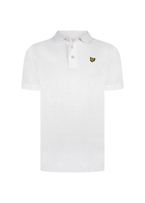 Lyle & Scott Lyle & Scott Classic Polo Shirt Bright White