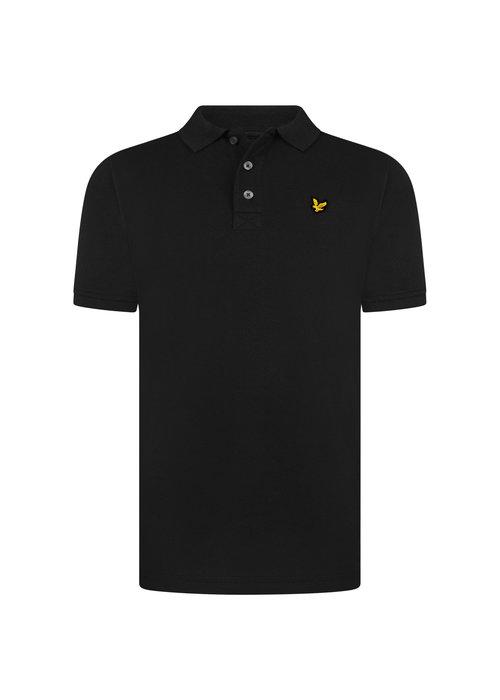 Lyle & Scott Lyle & Scott Classic Polo Shirt True Black
