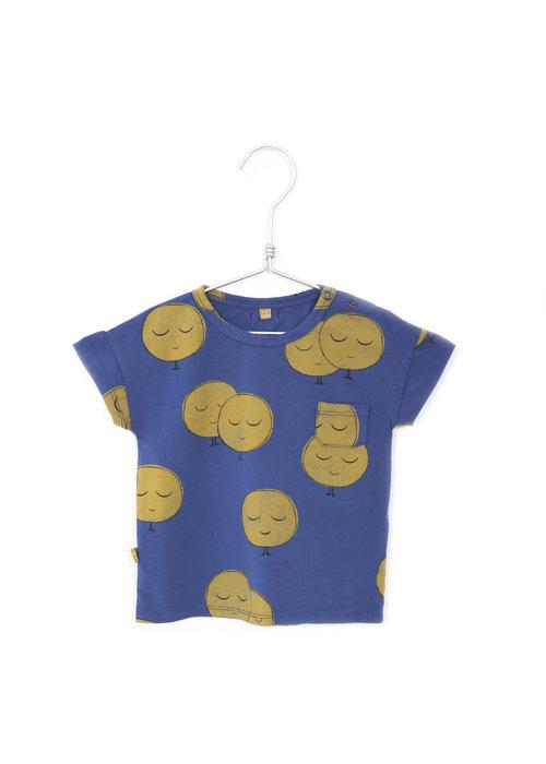 Lötiekids Lötiekids Tshirt Short Sleeve Moons Indigo Blue