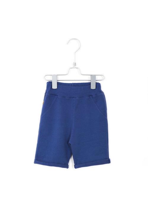 Lötiekids Lötiekids Bermuda Shorts Solid Indigo Blue