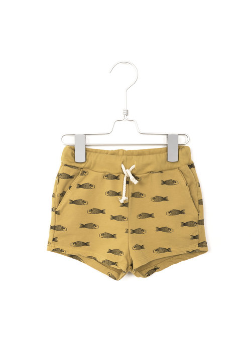 Lötiekids Lötiekids Shorts Fishes Sun Yellow
