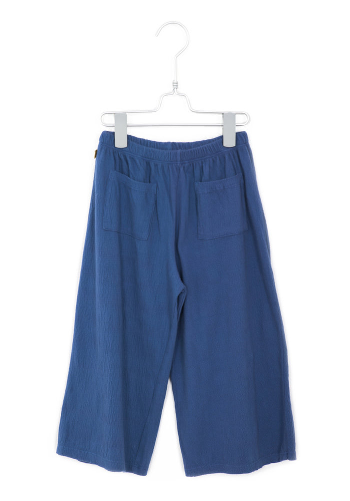Lötiekids Loose Culotte Pants Solid Indigo Blue