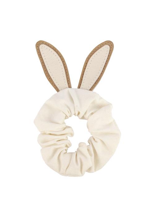 Donsje Donsje Polly Hairscrunchie Bunny Taupe Nubuck