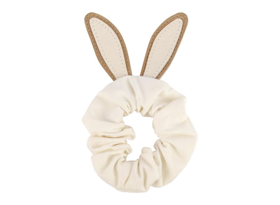 Donsje Polly Hairscrunchie Bunny Taupe Nubuck