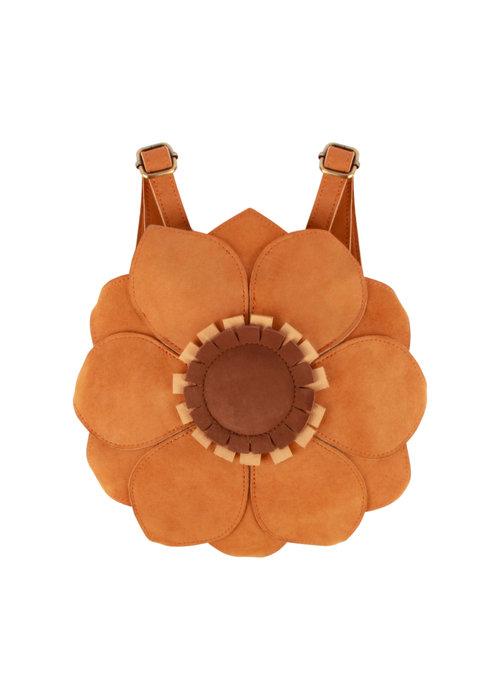 Donsje Donsje Fjura Backpack Sunflower Caramel Nubuck