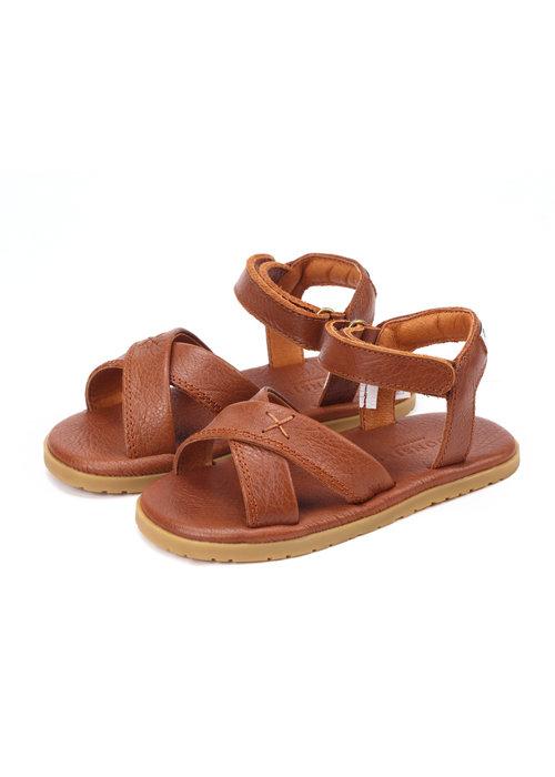 Donsje Donsje Otis Sandals Cognac Leather