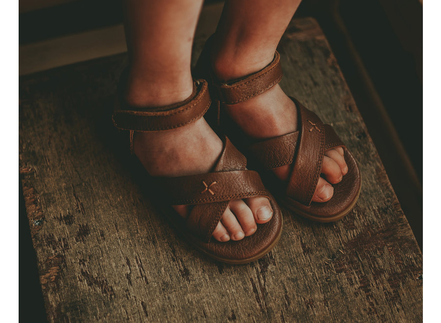 Donsje Otis Sandals Cognac Leather