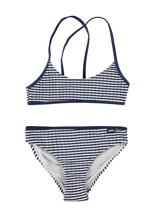 Molo Molo Neddy Bikini Navy Stripe