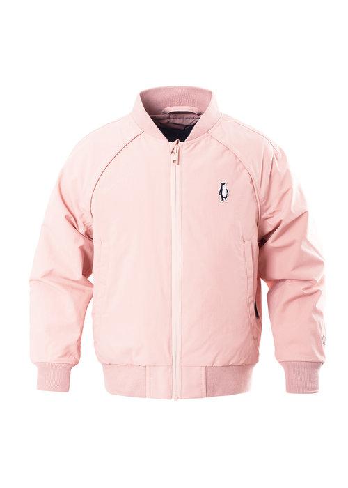 Gosoaky Gosoaky Girls Lined Bomber Jacket Spider Kiss Evening Pink