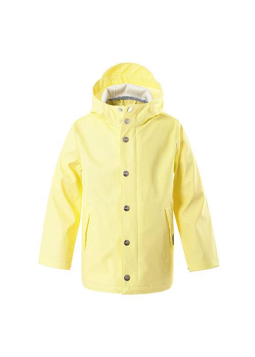 Gosoaky Gosoaky Unisex Unlined Raincoat Elephant Man Lemon Yellow