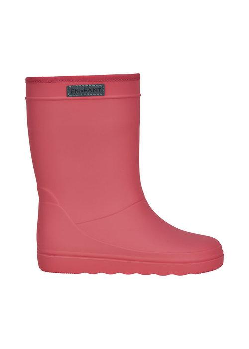Enfant Enfant Rubber Rain Boot Solid Georgia Peach